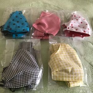 100% Cotton Face Mask Cover & Matching Head Tie